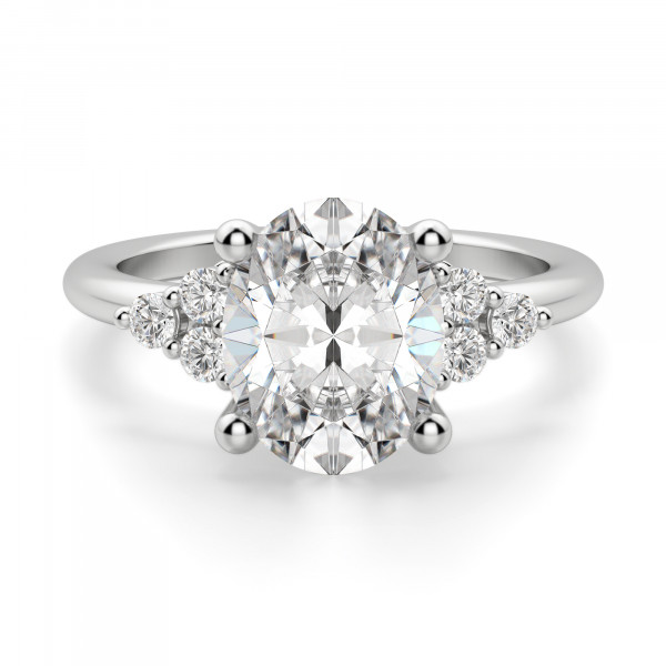 Muse 2.54 carat Oval Cut Engagement Ring