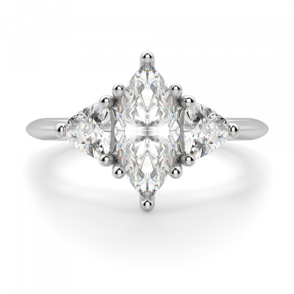 Timeless Marquise Cut Engagement Ring