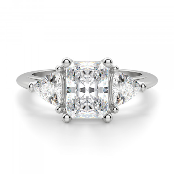 Timeless Radiant cut Engagement Ring