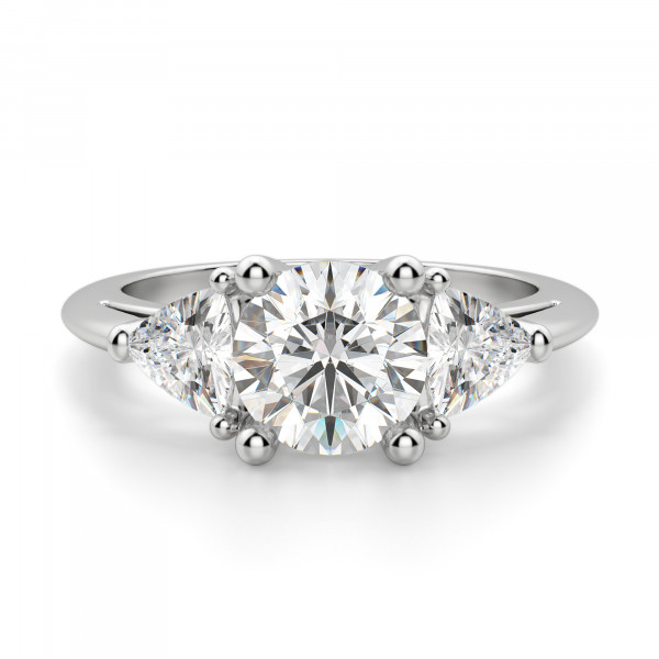 Timeless Round cut Engagement Ring
