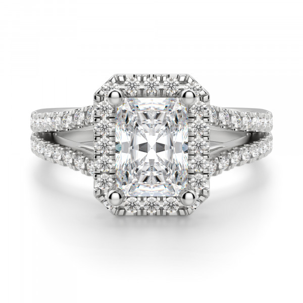 Palm Springs Radiant Cut Engagement Ring