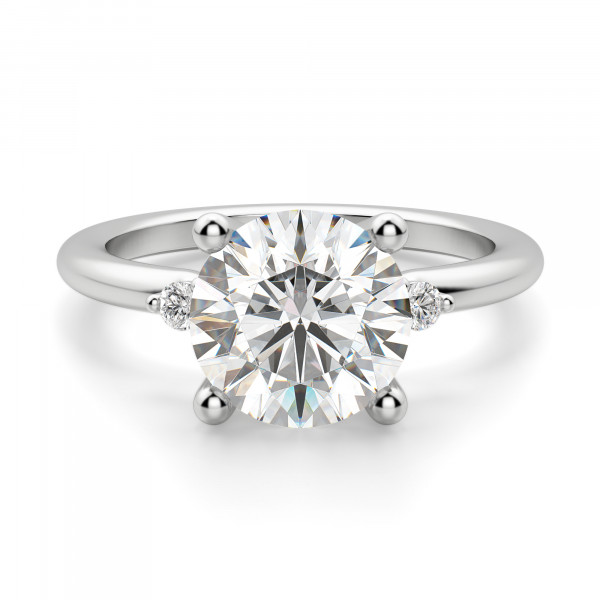 Muse 2.55 carat Round Cut Engagement Ring