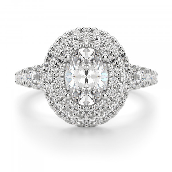 Almeria Oval Cut Engagement Ring