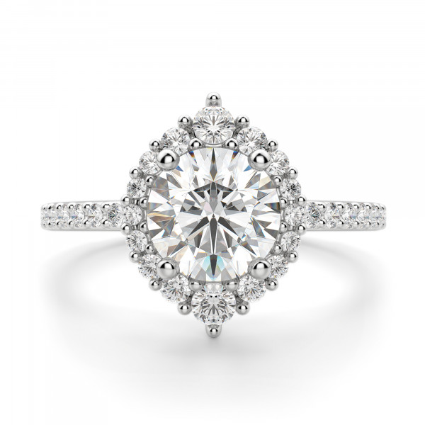 Barcelona Round cut Engagement Ring