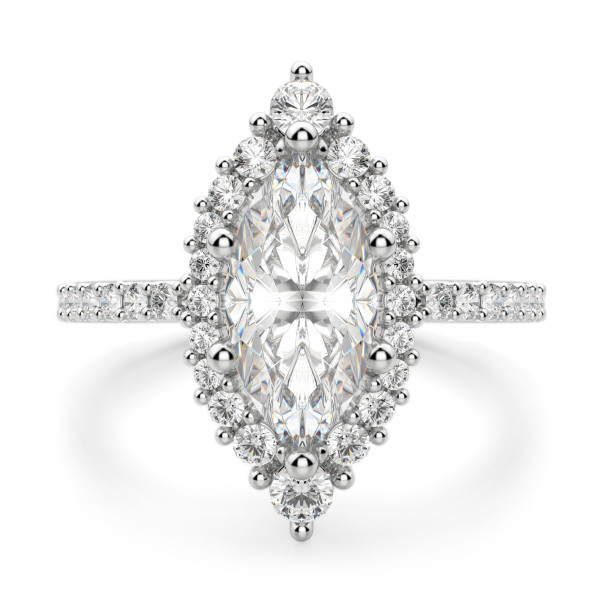 Barcelona Marquise cut Engagement Ring