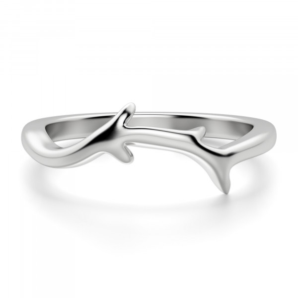 Willow Ring, Sterling Silver