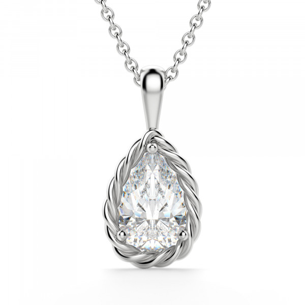 Fiji Pear Cut Pendant