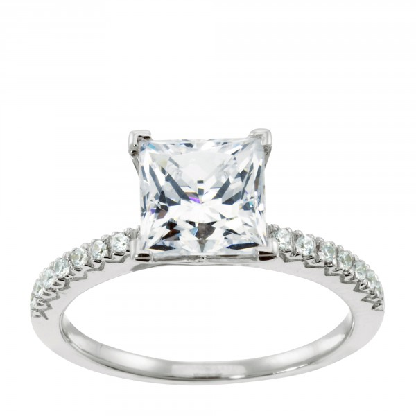 Angelix - 14k White Gold - Ring Size 4 50-5 50