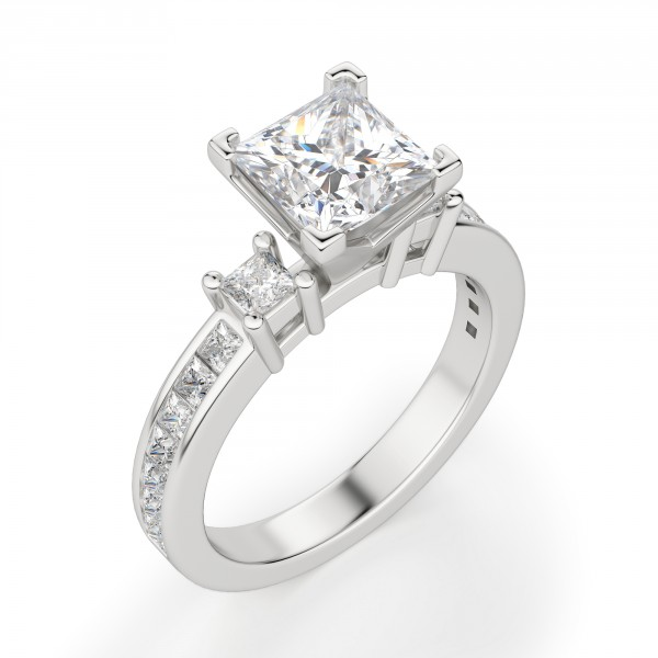 Kit Princess Cut Engagement Ring b2b7aa0ba