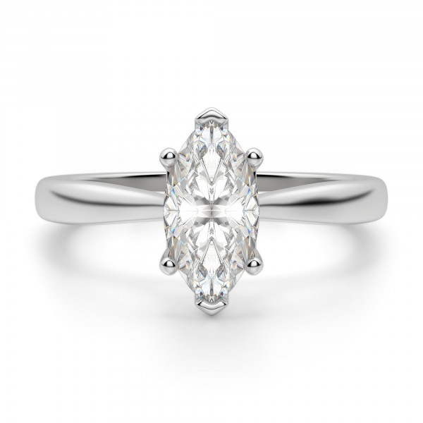 Montreal Marquise Cut Engagement Ring