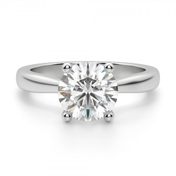 Montreal Round Cut Engagement Ring c11963c8f