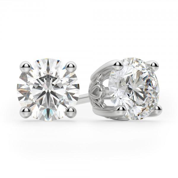 f2325e289 Earrings | Classic/Stud | Round Cut Stud Earrings, Tension Back, Filigree  Set
