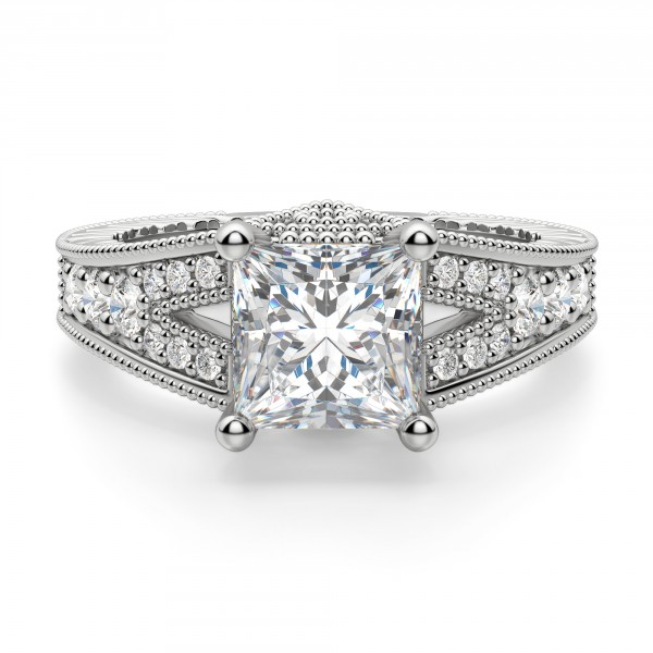 Valencia Princess Cut Engagement Ring Engagement Rings Engagement