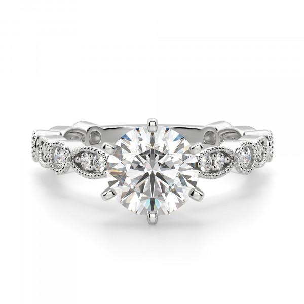 297233d6bc4ac Infinite Love Round cut Engagement Ring