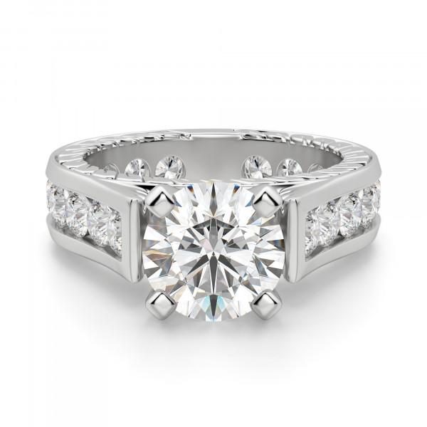 Engagement Rings Ornate Futuris Engagement Ring