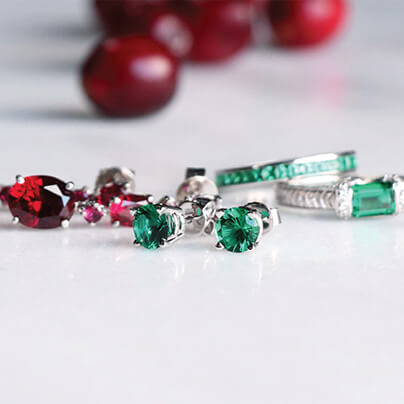 Get Festive with Rubies & Emeralds