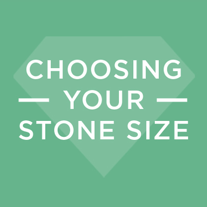 Carat Size Infographic: Choosing Your Stone Size