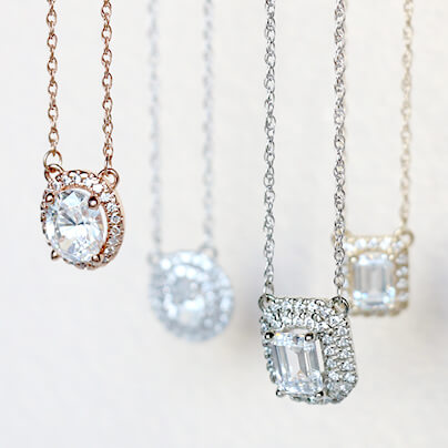 4 New Necklaces for the Vintage-Glam Girl