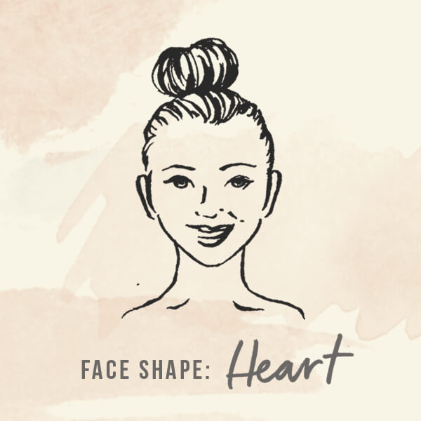 Face shape: Heart