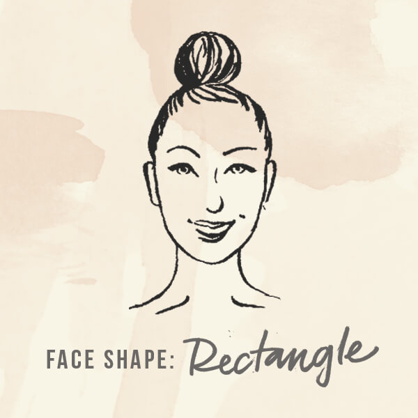 Face shape: Rectangle
