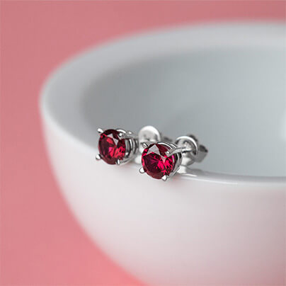 Rubies & Rose for Valentine's Day