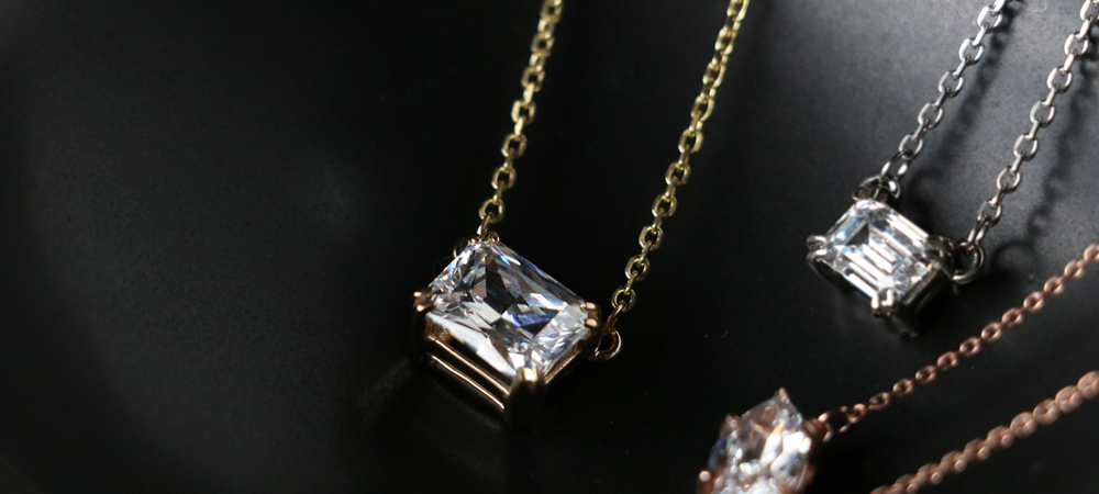 East-West Necklaces: Radiant