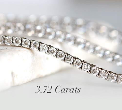 3 72 Carat Tennis Bracelet