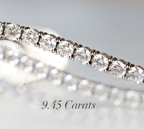 9 45 Carat Tennis Bracelet
