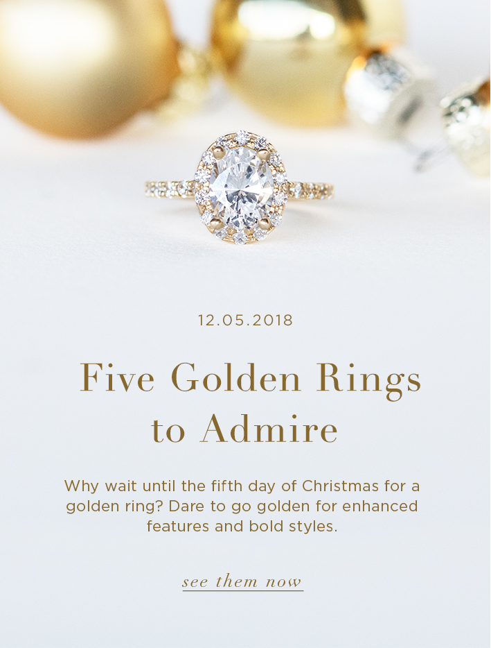 Five Golden Rings to Admire