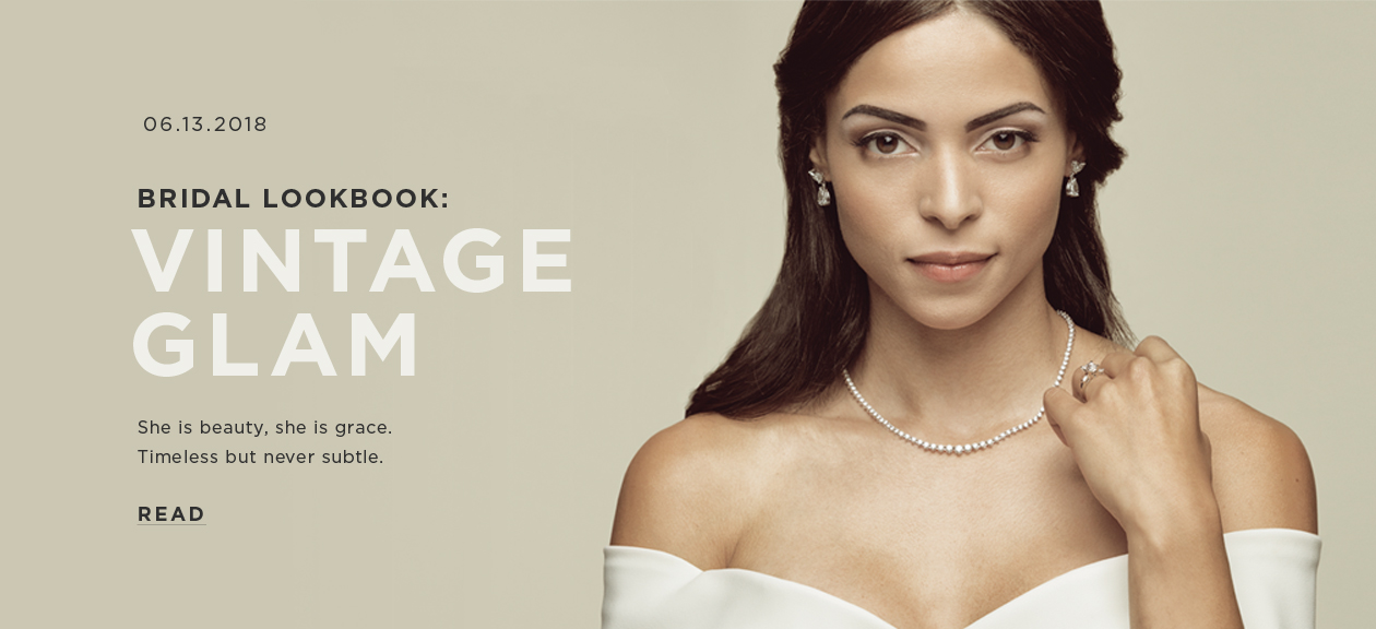 Bridal Lookbook: Gorgeous Glam