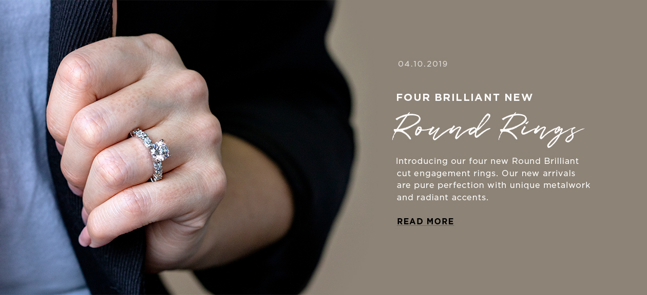 Four Brilliant New Round Rings