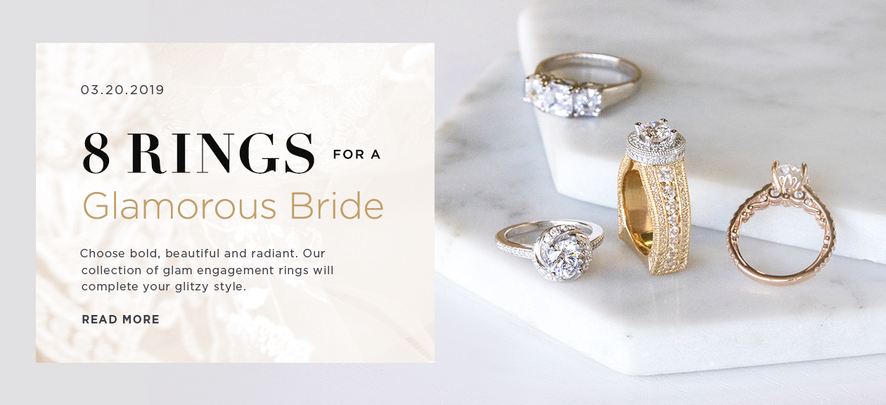 8 Rings for a Glamorous Bride