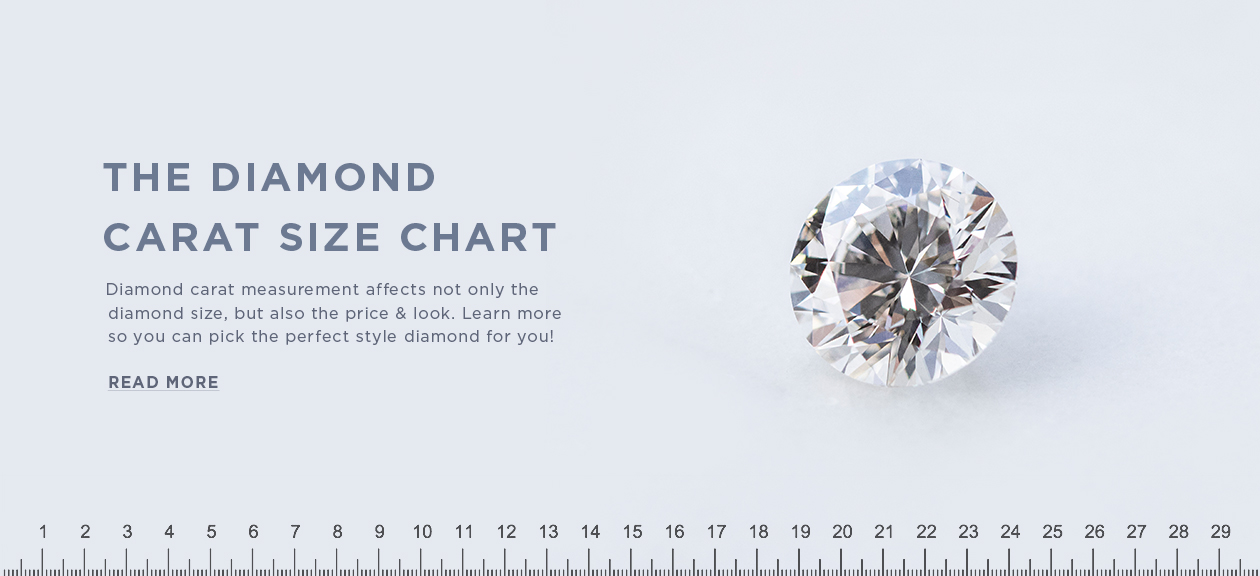 The Diamond Carat Size Chart