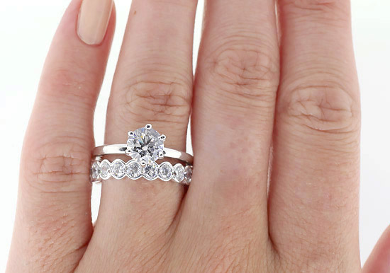 Blog How To Stack Your Wedding Bands