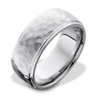 Textured Finish Men's Ring